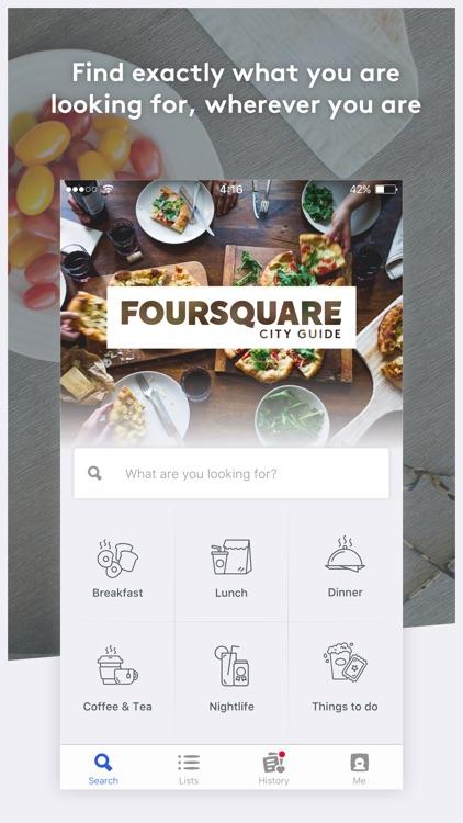 Foursquare City Guide screenshot-0