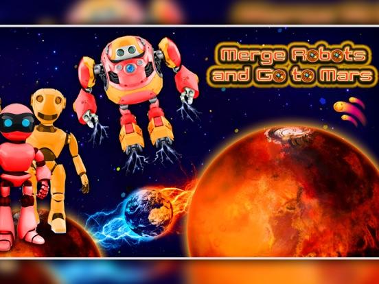 Merge Robots & Go To Mars! screenshot 6