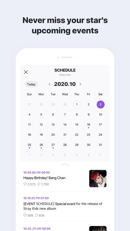 V LIVE :App for stars and fans screenshot-4