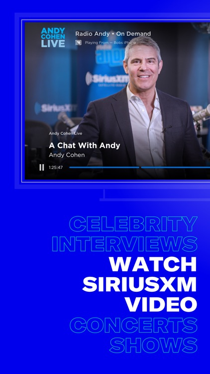 SiriusXM-Music, Comedy, Sports screenshot-5