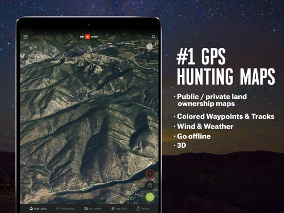 onX Hunt: #1 GPS Hunting Map screenshot