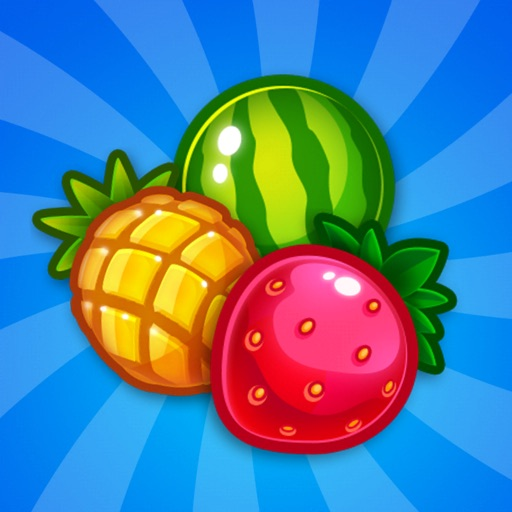 Fruity Merge - Puzzle Action icon
