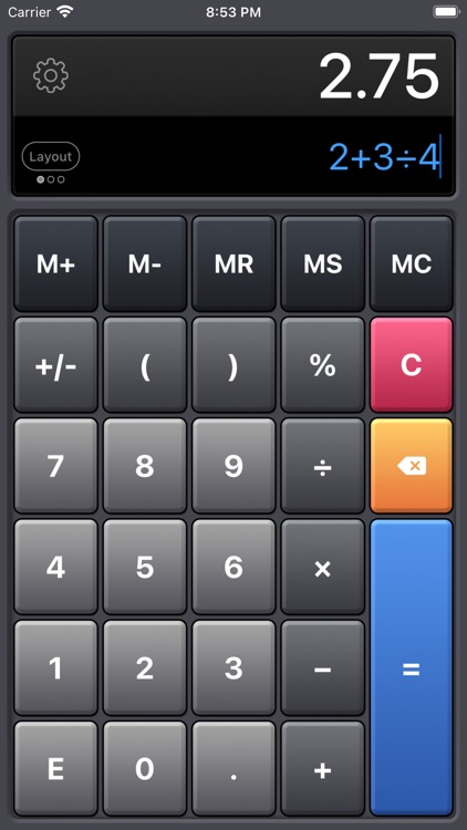 Calculator HD Pro screenshot-4