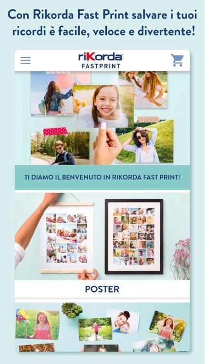 Rikorda Fast Print Stampa Foto screenshot-0