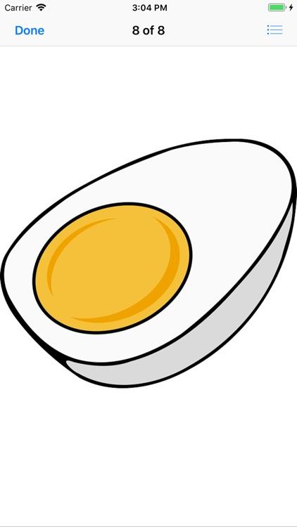 Lotsa Egg Stickers screenshot-3