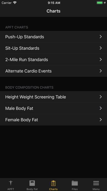 APFT App screenshot-5