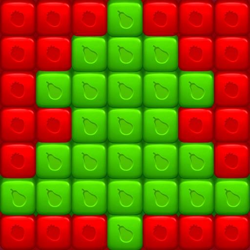 Fruit Cube Blast: Match 3 Game