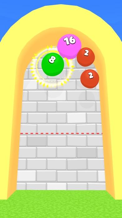 2048 Balloons 3D screenshot 2