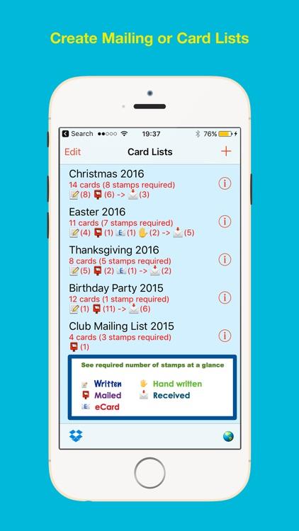 Address Labels for CardLists screenshot-8
