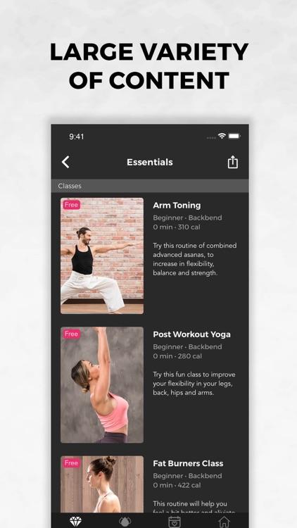 Lotus   Yoga and Workout screenshot-3