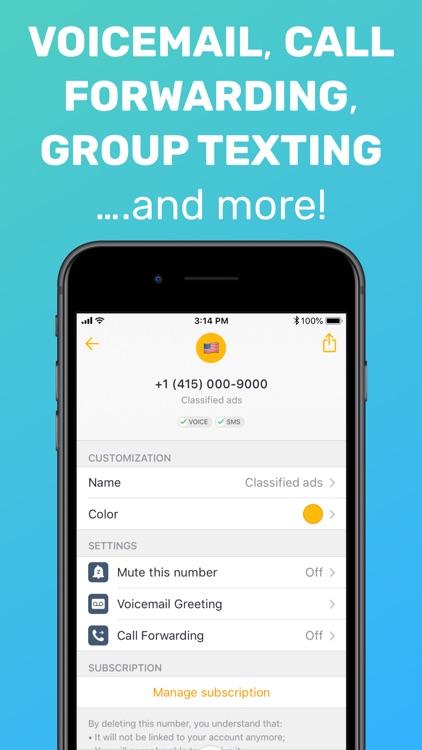Free Tone - Calling & Texting screenshot-3