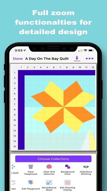 Quiltler 2 - Quilting App screenshot-3