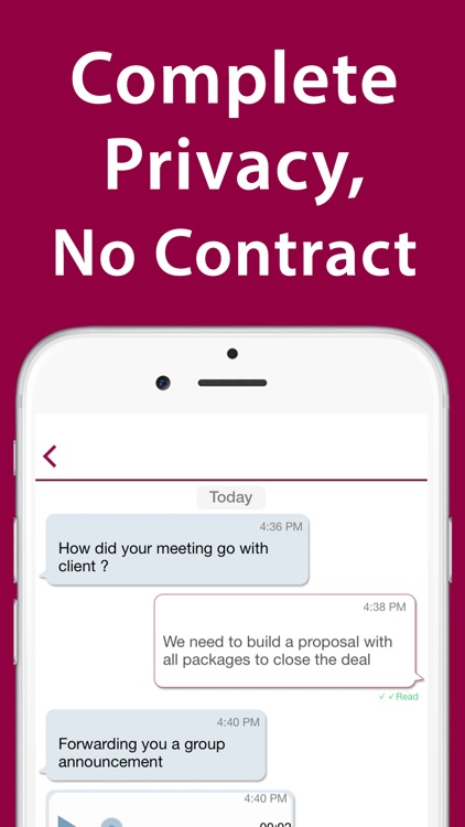 iPlum: 2nd Business Phone Line screenshot-4