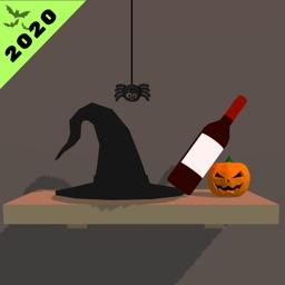 Wine Bottle Flip 3D- Halloween