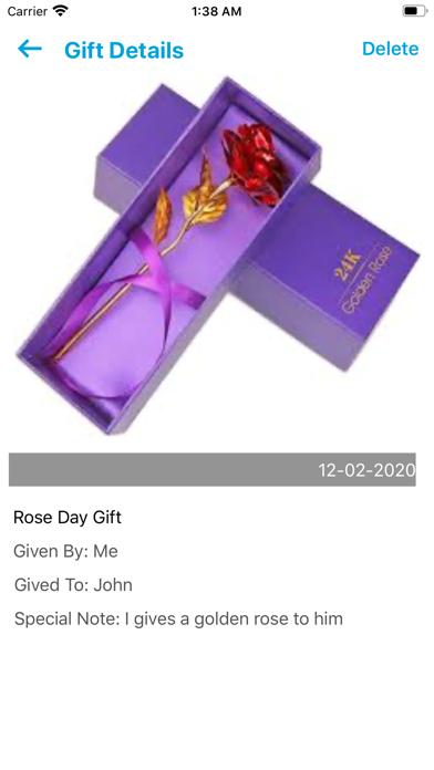 Recieved Gifts screenshot #3