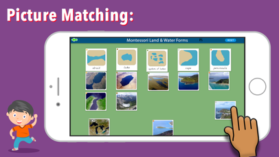 Montessori Land & Water Forms screenshot 4