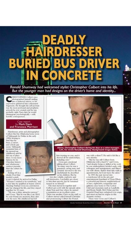 Murder Most Foul Magazine