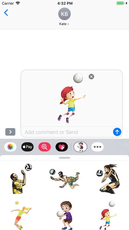 Volleyball Stickers Pack screenshot-6