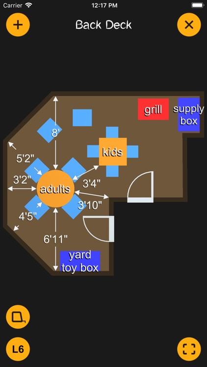 K.I.S.S. Room Layout screenshot-3