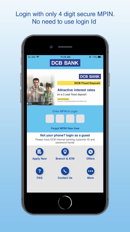 DCB Bank Mobile Banking screenshot-4