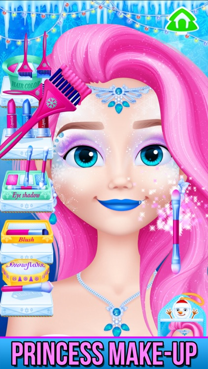 Christmas - Princess Makeover
