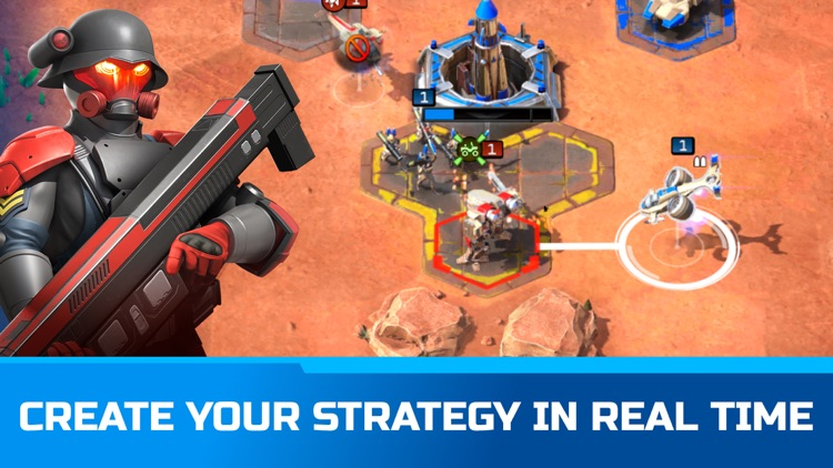 Command & Conquer™: Rivals PVP screenshot-3