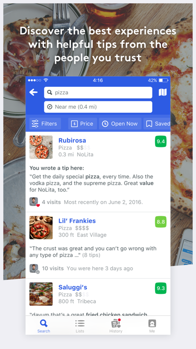 Foursquare City Guide ScreenShot3