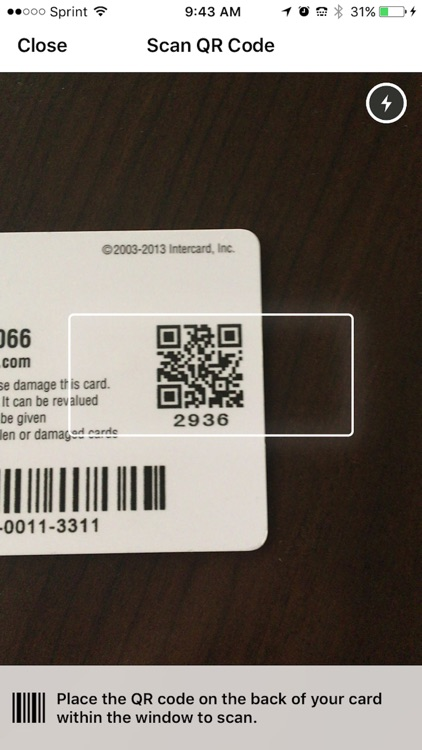 Intercard iService App