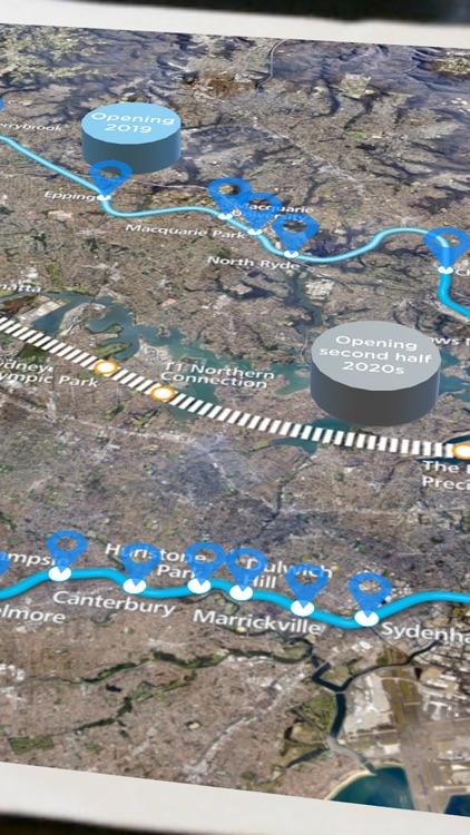 Sydney Metro augmented reality