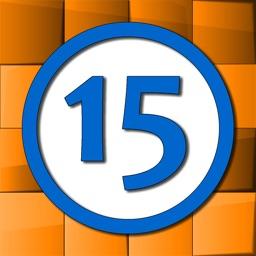 Fifteen sliding tiles puzzle