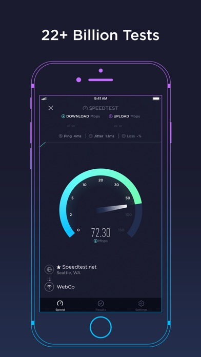 Download Speedtest by Ookla for Pc
