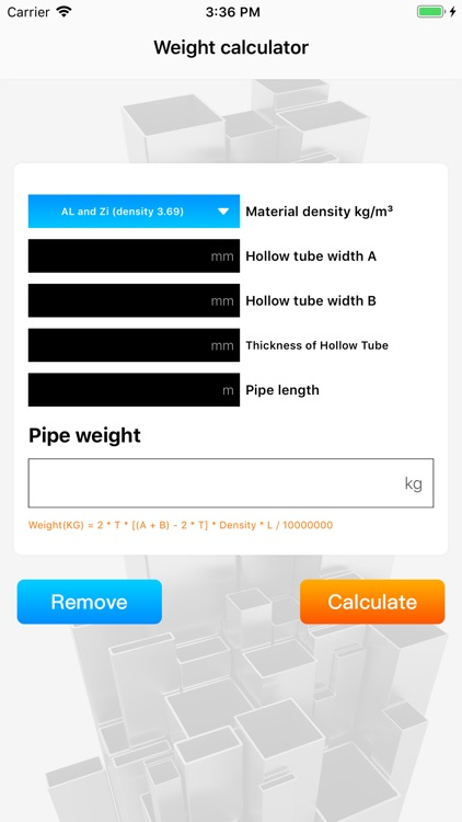Weight calculator by Li Rui