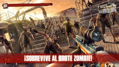 Screenshot for Zombie Frontier 3: Sniper FPS in Colombia App Store