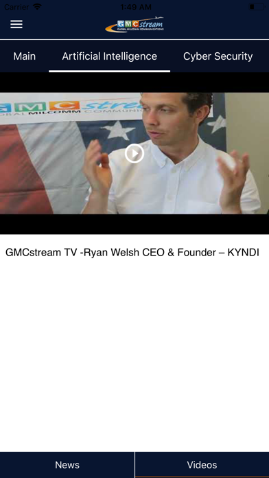 Screenshot for GMCStream in South Africa App Store