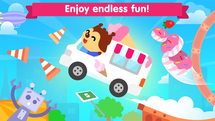 Car game for kids and toddler screenshot-3