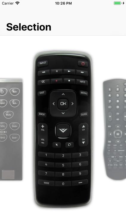 Remote for Vizio screenshot-3