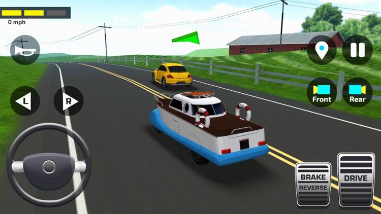 Car Driving School Simulator ! screenshot-9