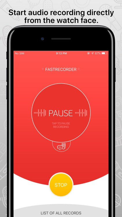 FastRecorder audio recording screenshot-4
