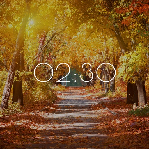 Autumn Clock HD