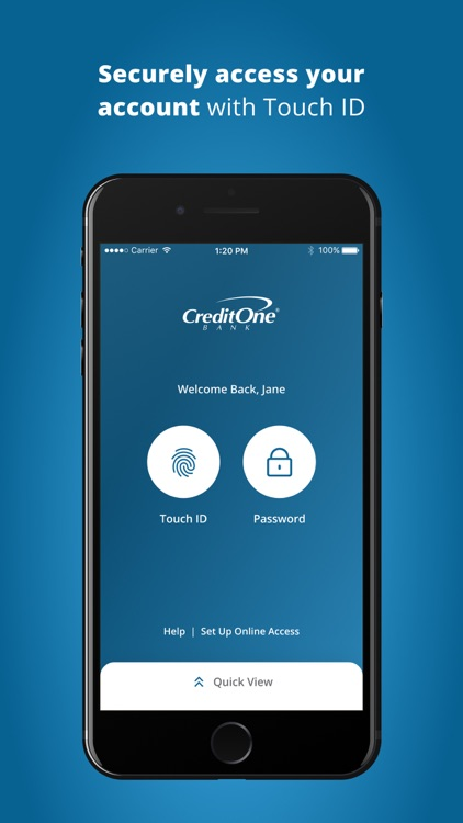 Credit One Bank Mobile