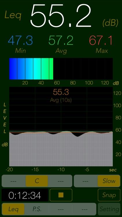 Sound Level Analyzer PRO screenshot-3
