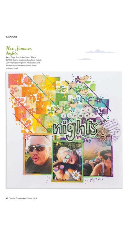 Creative Scrapbooker Magazine screenshot-4