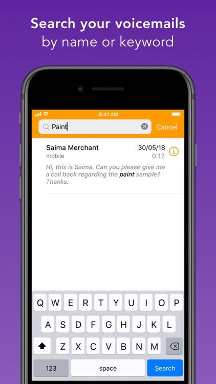 Spark Voicemail screenshot-6