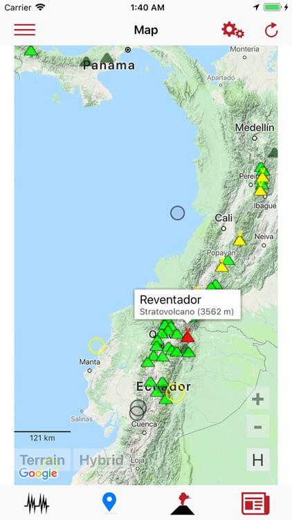 Volcanoes & Earthquakes screenshot-5