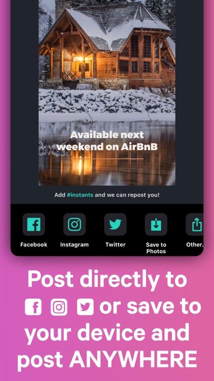 Ingage Instants: Social Posts screenshot-6