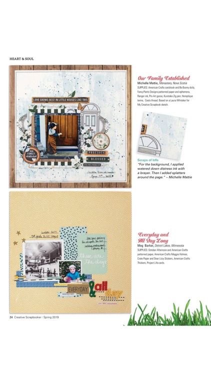 Creative Scrapbooker Magazine screenshot-1