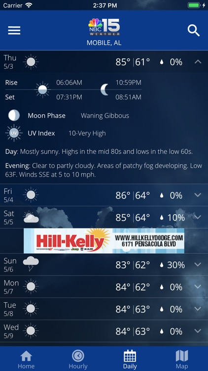 NBC 15 Weather screenshot-3