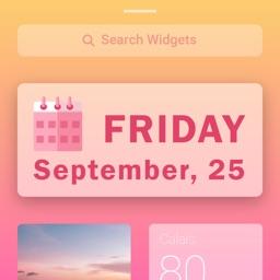 Calendar Widget - Photo Widget