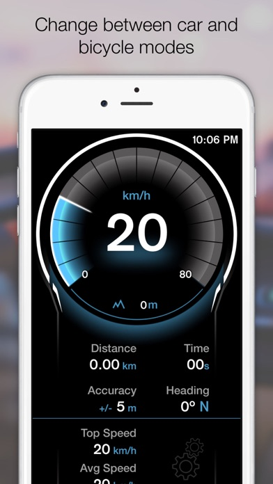 Screenshot for GPS Digital Speed Tracker Pro in Italy App Store