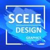 sceje:手机制作海报、Logo设计和PS编辑工具